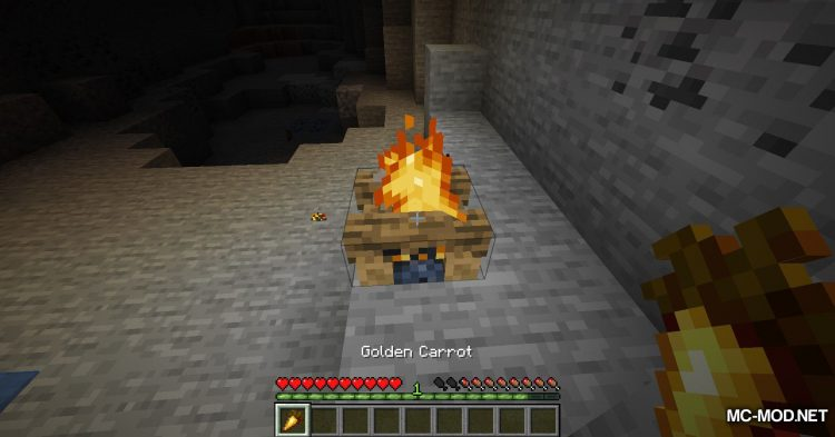 Campfire Incense mod for Minecraft (11)