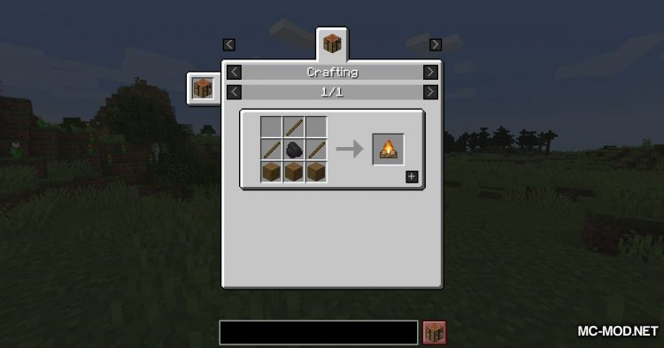 Campfire Incense mod for Minecraft (2)