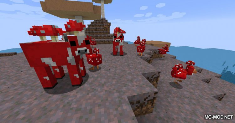 Earth Mobs mod for Minecraft (15)