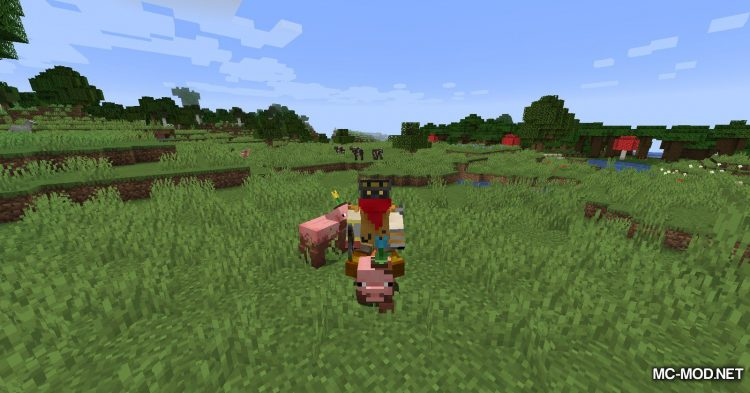 Earth Mobs mod for Minecraft (6)