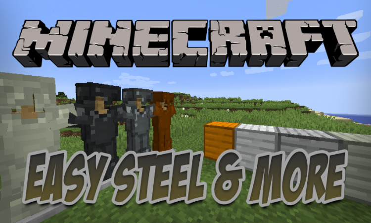 Easy Steel _ More mod for Minecraft logo