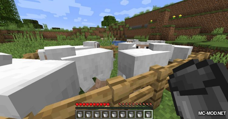 Get In The Bucket mod for Minecraft (13)