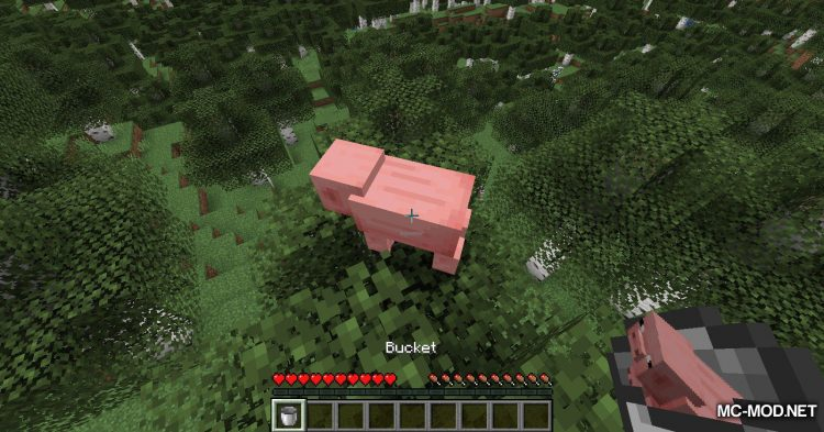 Get In The Bucket mod for Minecraft (5)