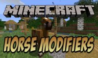 Horse Modifiers mod for Minecraft logo