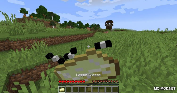 Maggot Cheese Mod mod for Minecraft (8)