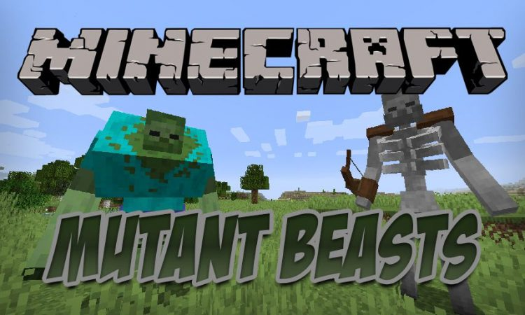 Mutant Beasts mod for Minecraft logo