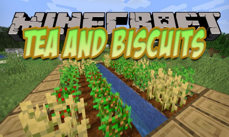 Tea and Biscuits mod for Minecraft logo