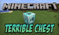 Terrible Chest mod for Minecraft logo