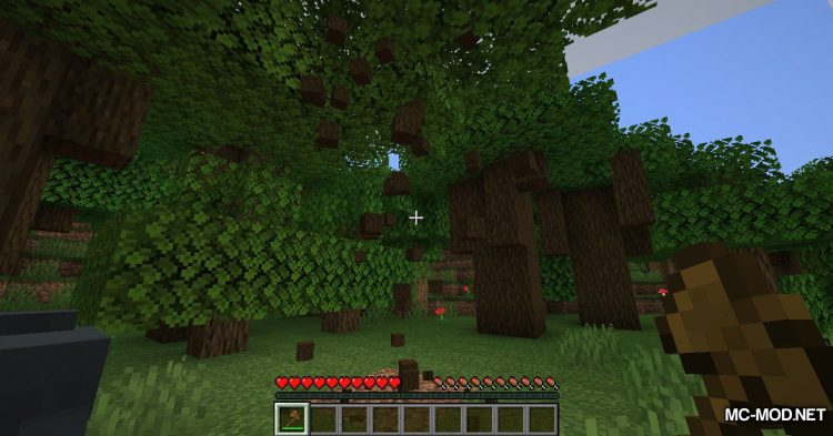 pizzaatime_s Timber Mod mod for Minecraft (7)