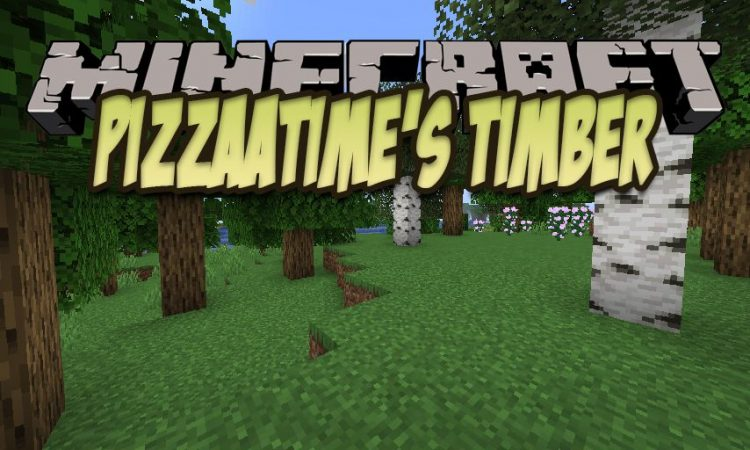 pizzaatime_s Timber Mod mod for Minecraft logo