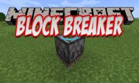 Block Breaker mod for Minecraft logo