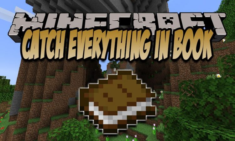 Catch Everything In Book mod for Minecraft logo