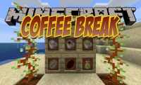 Coffee Break mod for Minecraft logo