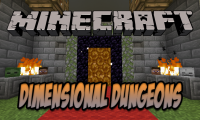 Dimensional Dungeons mod for Minecraft logo