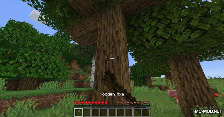 Falling Tree mod for Minecraft (4)