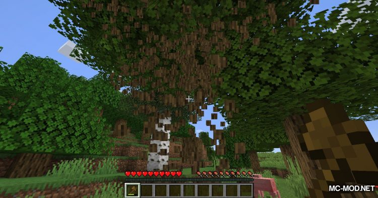 Falling Tree mod for Minecraft (5)