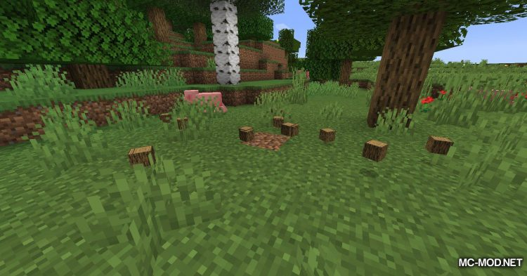 Falling Tree mod for Minecraft (6)