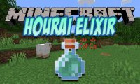 Hourai Elixir mod for Minecraft logo