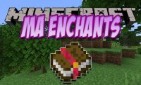 Ma Enchants mod for Minecraft logo