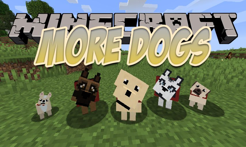 More Dogs mod for Minecraft logo