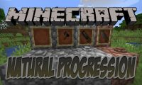 Natural Progression mod for Minecraft logo