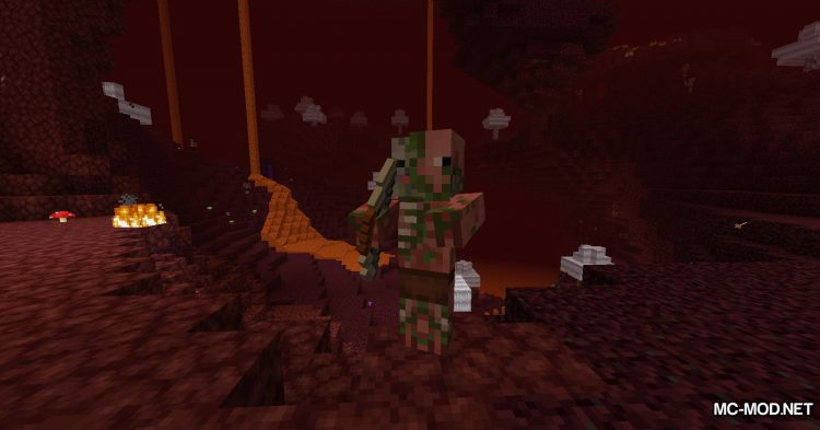 Nethercraft Classic mod for Minecraft (9)