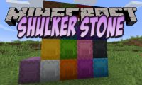 Shulker Stone mod for Minecraft logo
