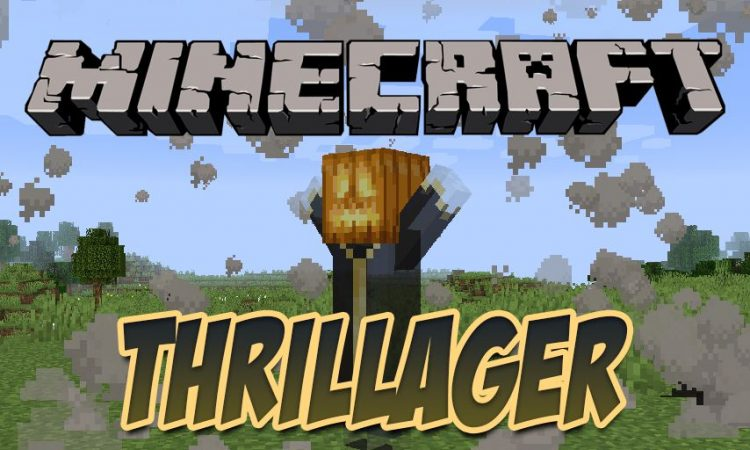 Thrillager mod for Minecraft logo