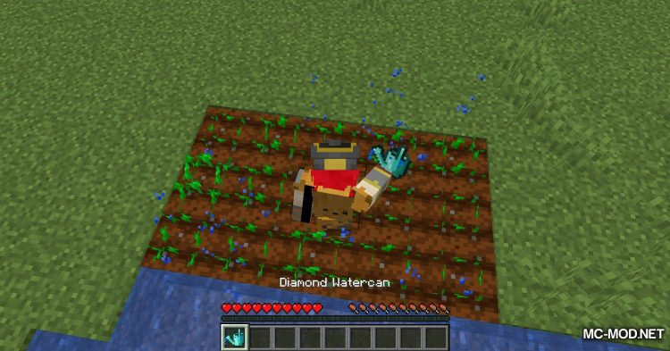 Watercan mod for Minecraft (8)