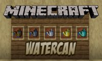Watercan mod for Minecraft logo
