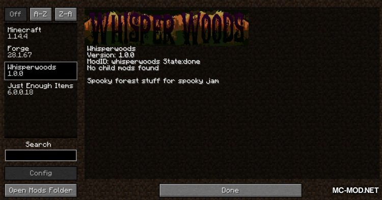 Whisperwoods mod for Minecraft (1)