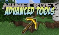 Advanced Tools mod for Minecraft logo