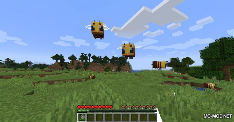 Bee Angry-est mod for Minecraft (12)
