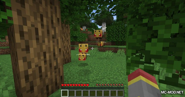 Bee Angry-est mod for Minecraft (5)