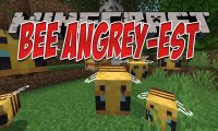 Bee Angry-est mod for Minecraft logo