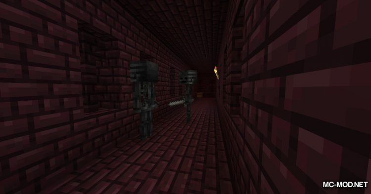 Better Wither Skeletons mod for Minecraft (3)