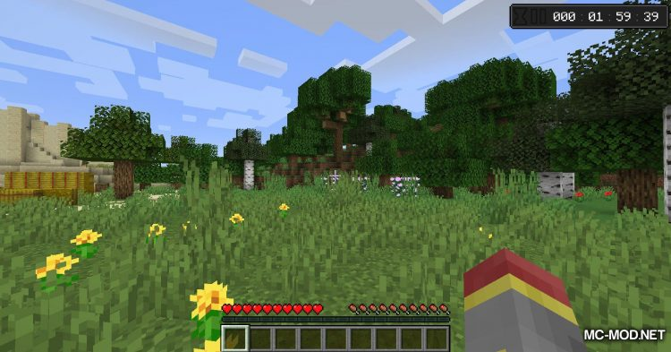 Countdown mod for Minecraft (1)