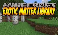 Exotic Matter Library mod for Minecraft logo