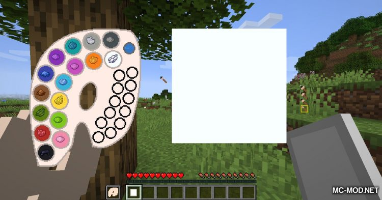 Joy of Painting mod for Minecraft (4)