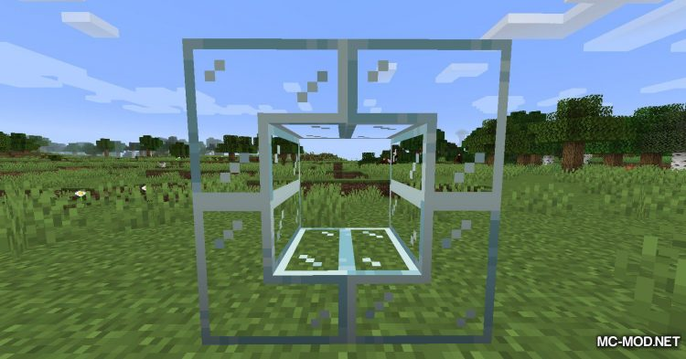 Mo Glass mod for Minecraft (6)
