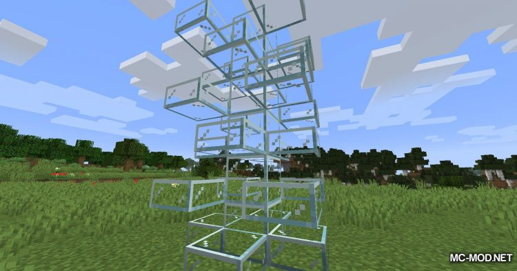 Mo Glass mod for Minecraft (7)