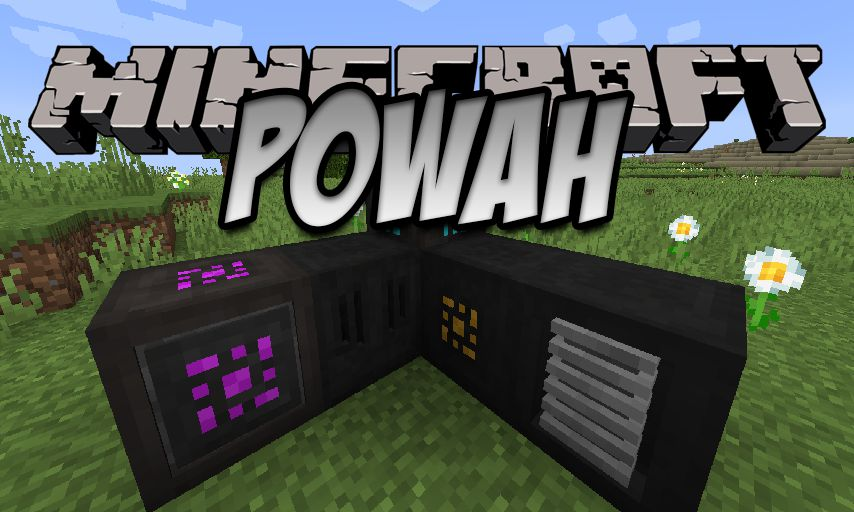 Powah mod for Minecraft logo
