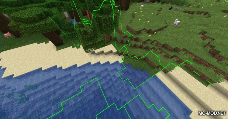 Biome Border Viewer mod for Minecraft (10)