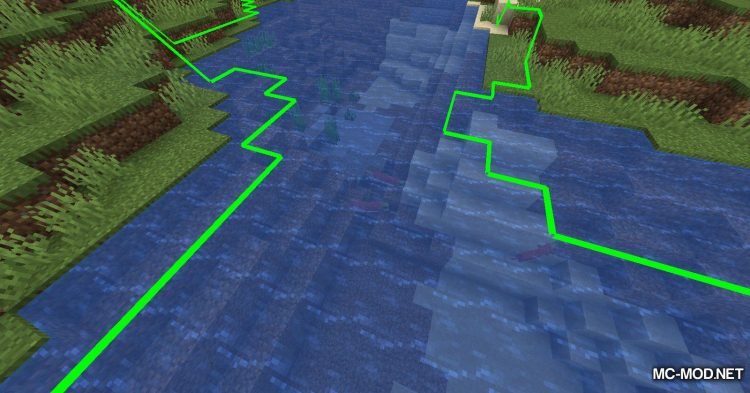 Biome Border Viewer mod for Minecraft (5)