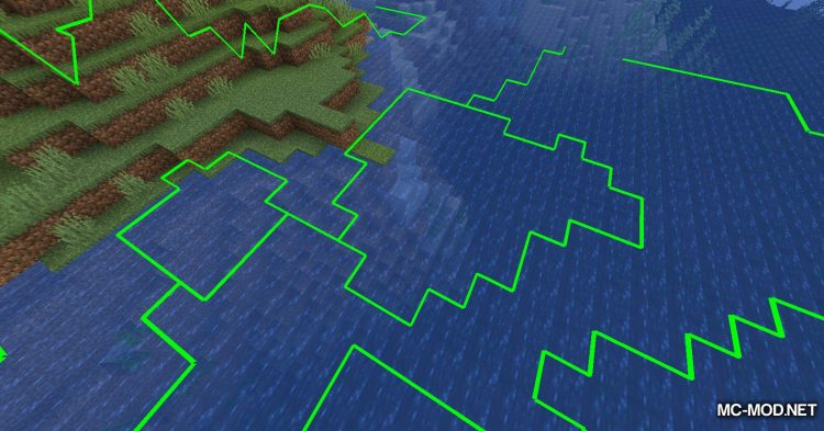 Biome Border Viewer mod for Minecraft (7)