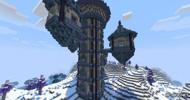 Blue Skies mod for Minecraft (10)