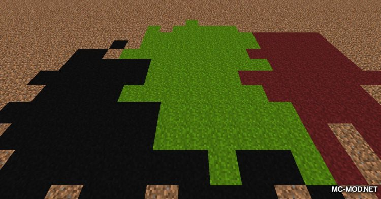 Colored Grass mod for Minecraft (10)