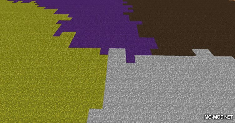 Colored Grass mod for Minecraft (12)