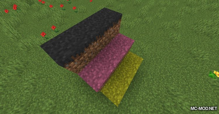 Colored Grass mod for Minecraft (7)