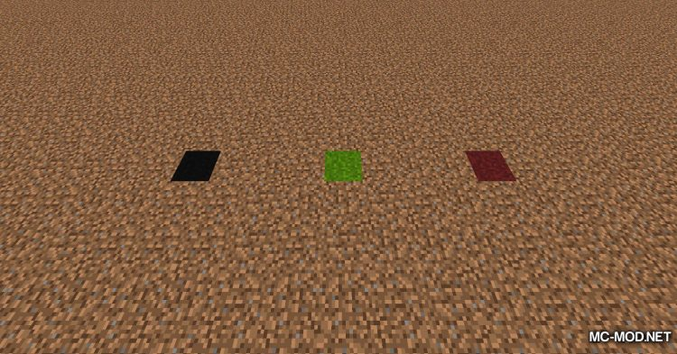 Colored Grass mod for Minecraft (9)